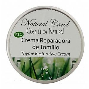 Crema Reparadora con Tomillo Natural Carol 110 ml.