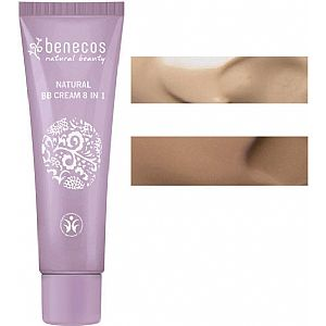 BB Cream 8 en 1 Benecos Beige 30 ml.