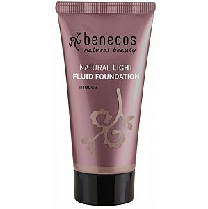 Maquillaje líquido natural light Mocca Benecos 30 ml.