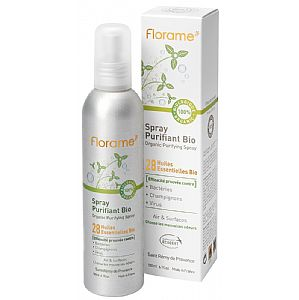 Spray purificante frescor Menta Florame 180 ml.