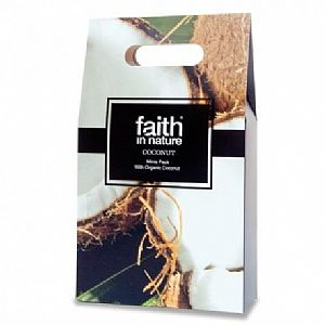 Pack viaje gel, champú y acondicionador Coco Faith in Nature 3 x 100 ml.