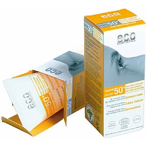 Crema protección solar SPF50 Light Toned Eco Cosmetics 75 ml.
