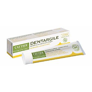 Dentargile Limón sin flúor Cattier 75 ml.