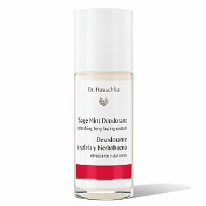 Desodorante roll-on de Salvia y Hierbabuena Dr. Hauschka 50 ml.