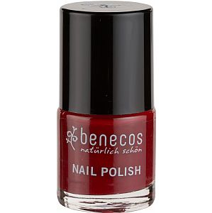 Esmalte Benecos Cherry Red 9 ml.